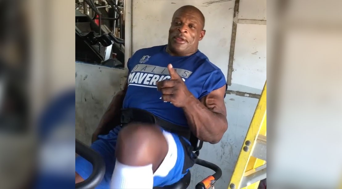 Ronnie Coleman Is Already Back in the Gym, Two Weeks After Surgery