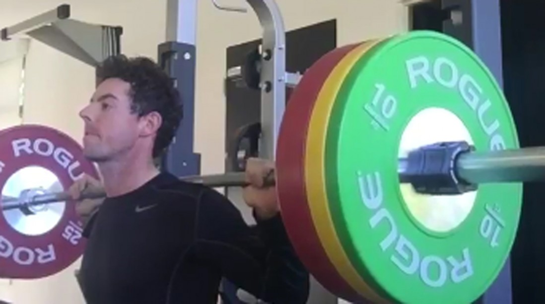 Rory Mcllroy Lifts Weights to Silence Critic