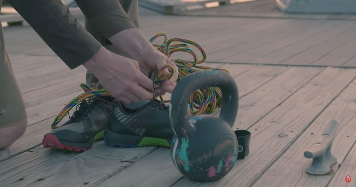 Watch: Insane Joe De Sena Destroys a Pair of Running Shoes to Prove their Endurance