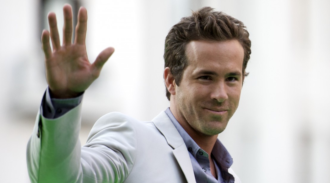 Ryan Reynolds at 'Green Lantern' movie event