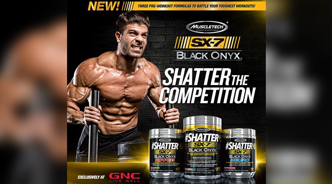 Supp of the Week: #Shatter SX-7 Black Onyx Ripped