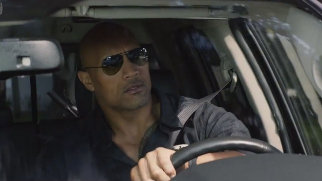 Check out The Rock in the Trailer for 'San Andreas'