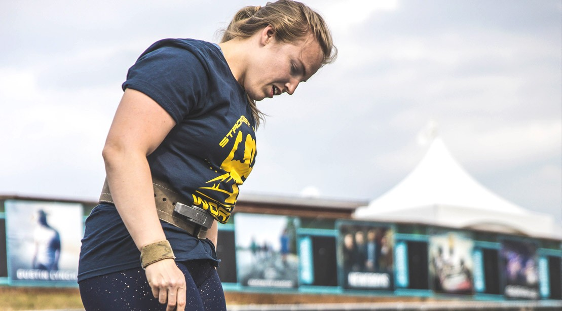 Sarah-Cogswell-Looking-Down-Strongest-Woman-Alaska