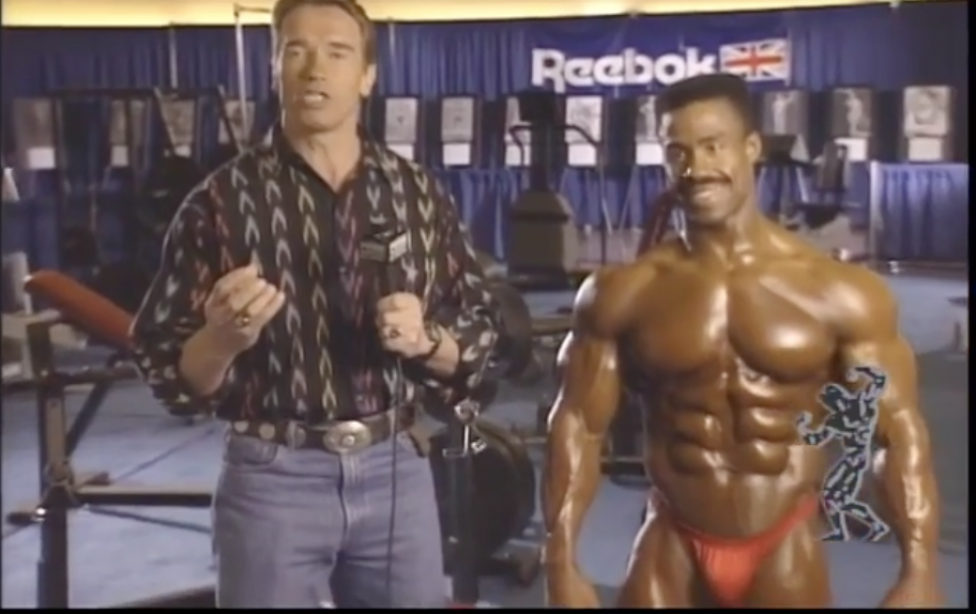 Throwback Arnold Schwarzenegger Competition Advice