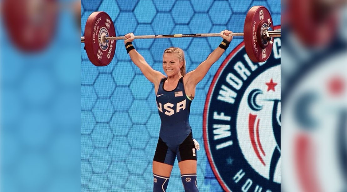 Morghan King Qualifies for U.S. Olympic Weightlifting Team
