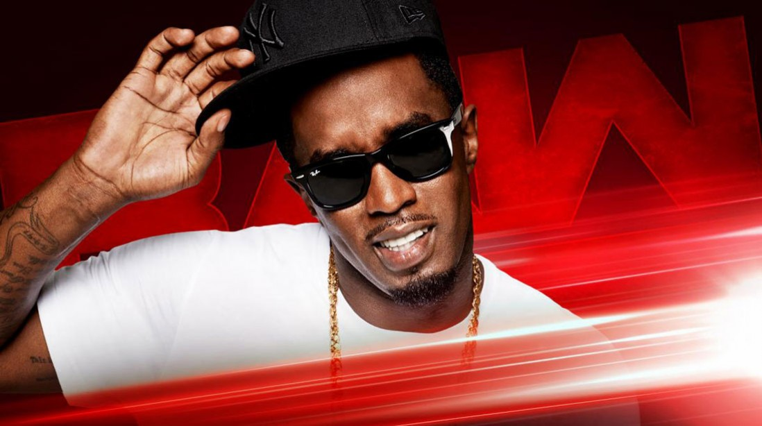"""Sean """"Puff Daddy"""" Combs to Appear on Monday Night Raw"""