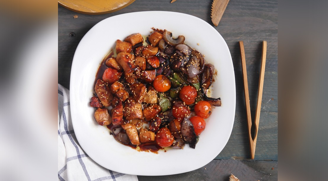Protein-Rich Slow Cooker Recipe: Honey Sesame Chicken
