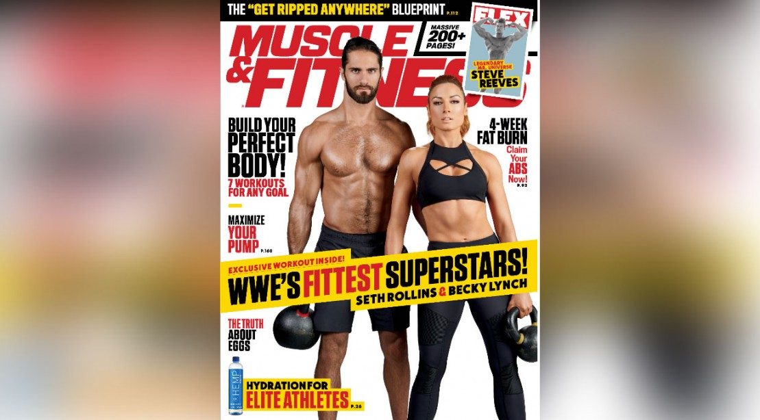 Get the October 2019 Issue of 'Muscle & Fitness'