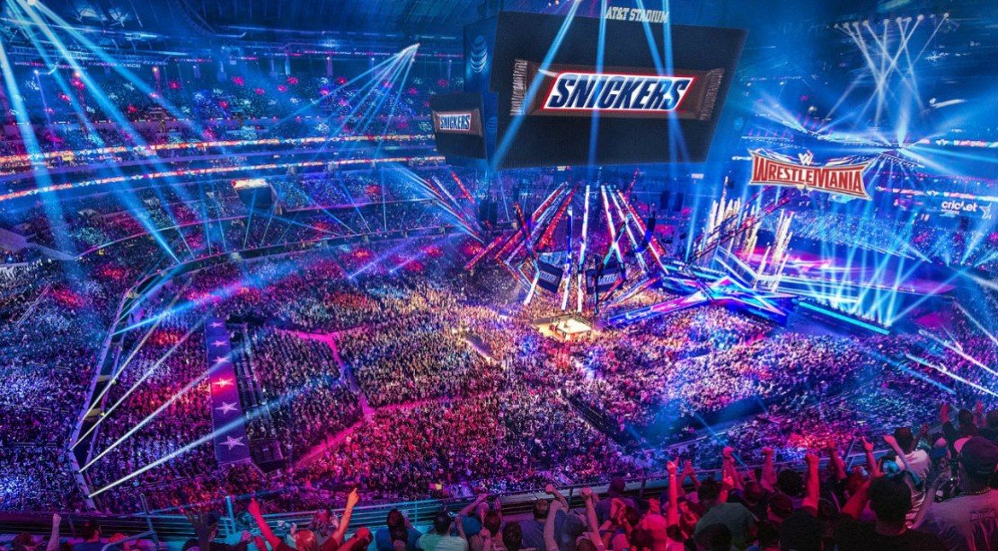 WWE and Snickers Team Up for Wrestlemania 33