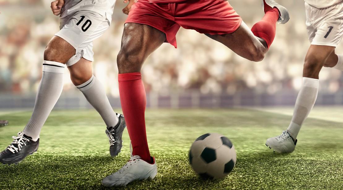 """Soccer Player Kicking Ball """"title ="""" Soccer Player Kicking Ball """"/>    <div class="""