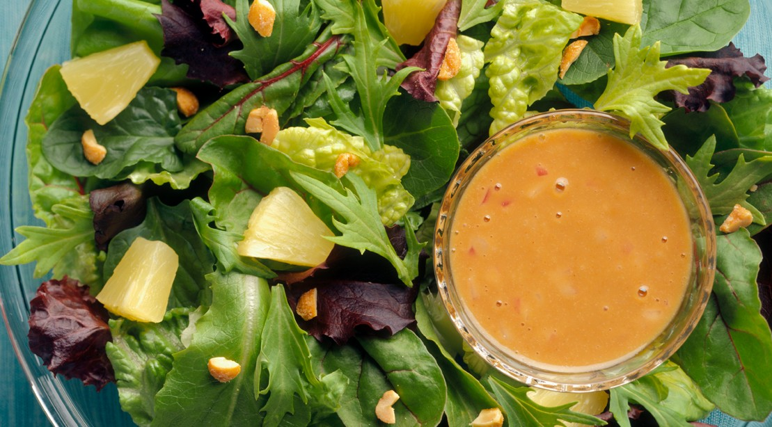 Spicy Peanut Lime Salad Dressing