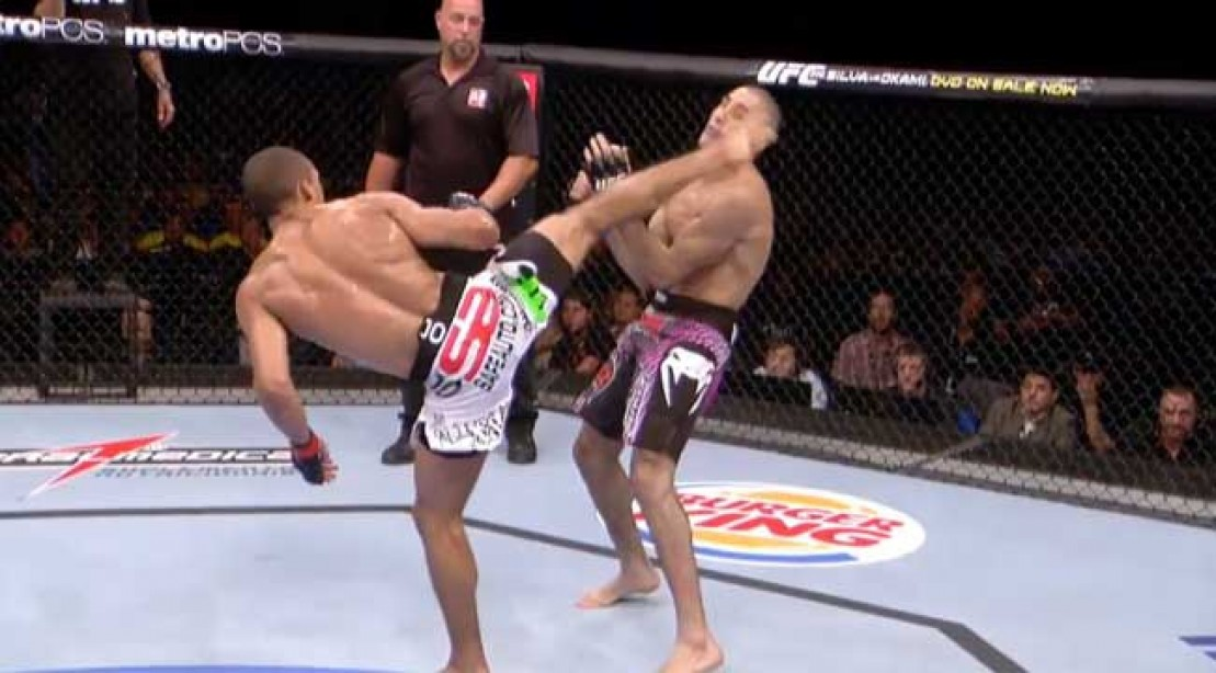 MMA Spinning Kick Compilation Video