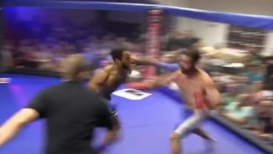 Sprinting KO punch