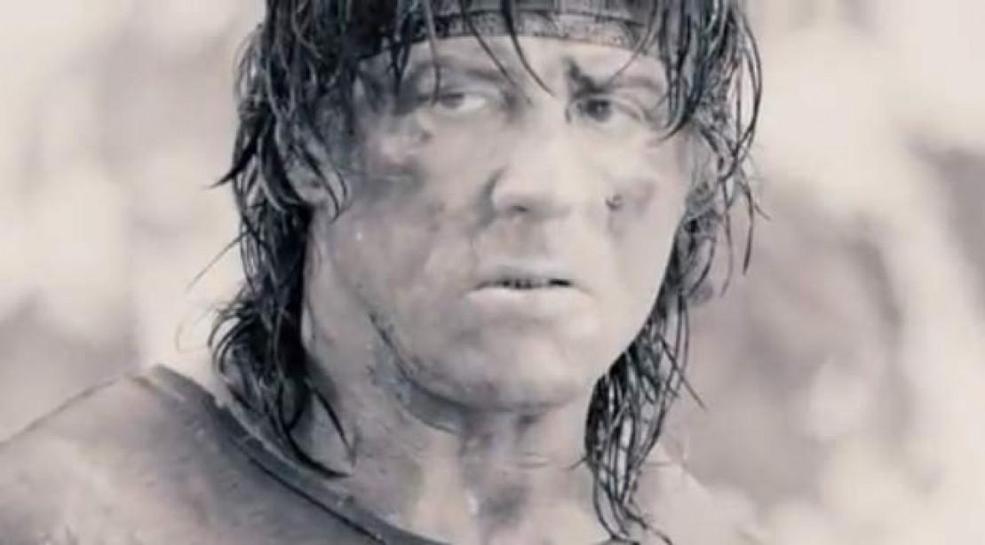 Sylvester Stallone as John Rambo