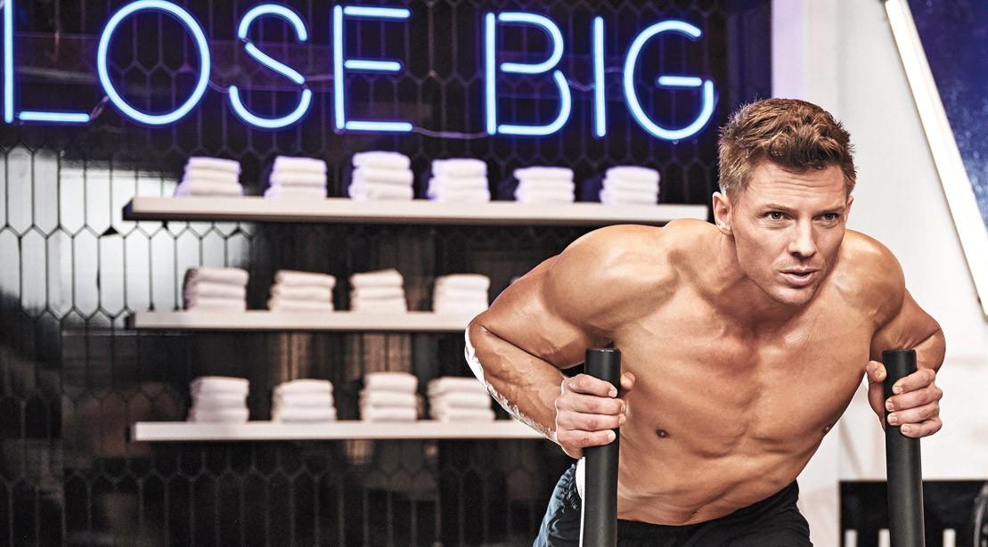 Steve-Cook-Sled-Push-Biggest-Loser