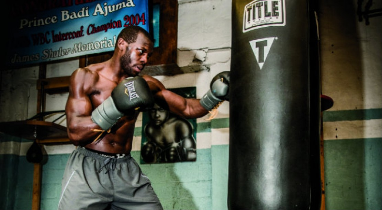 Pro Boxer Steve Cunningham