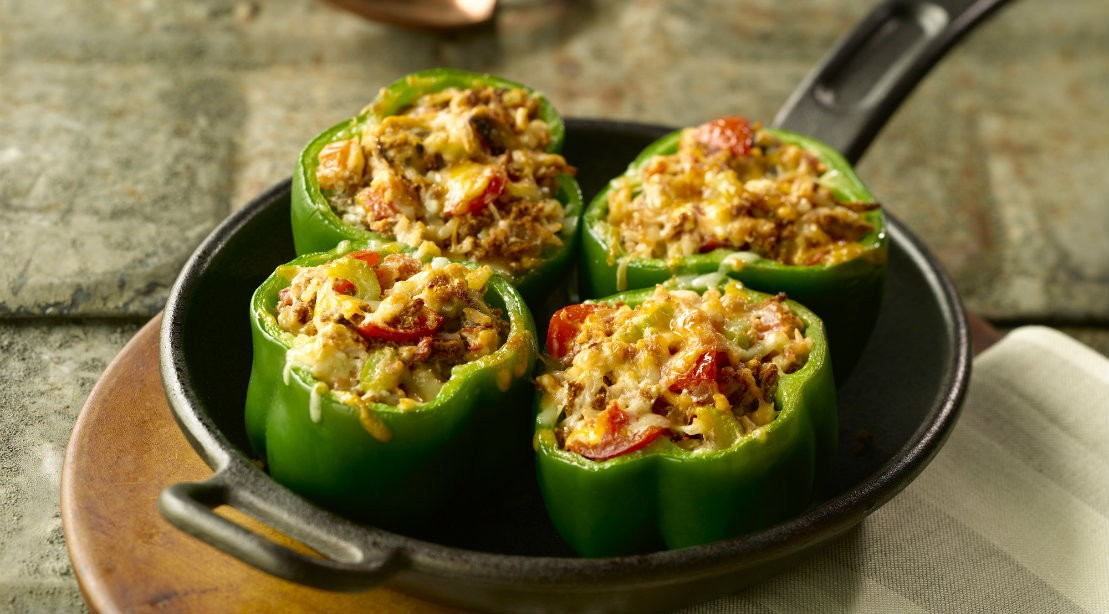 Protein-Rich Slow Cooker Recipe: Stuffed Peppers