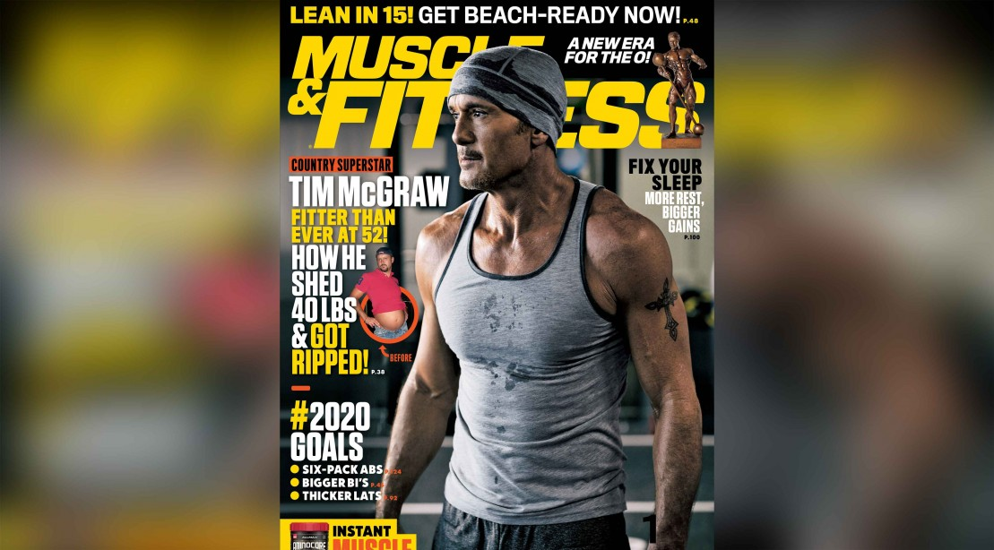 Get the February 2020 Issue of 'Muscle & Fitness'