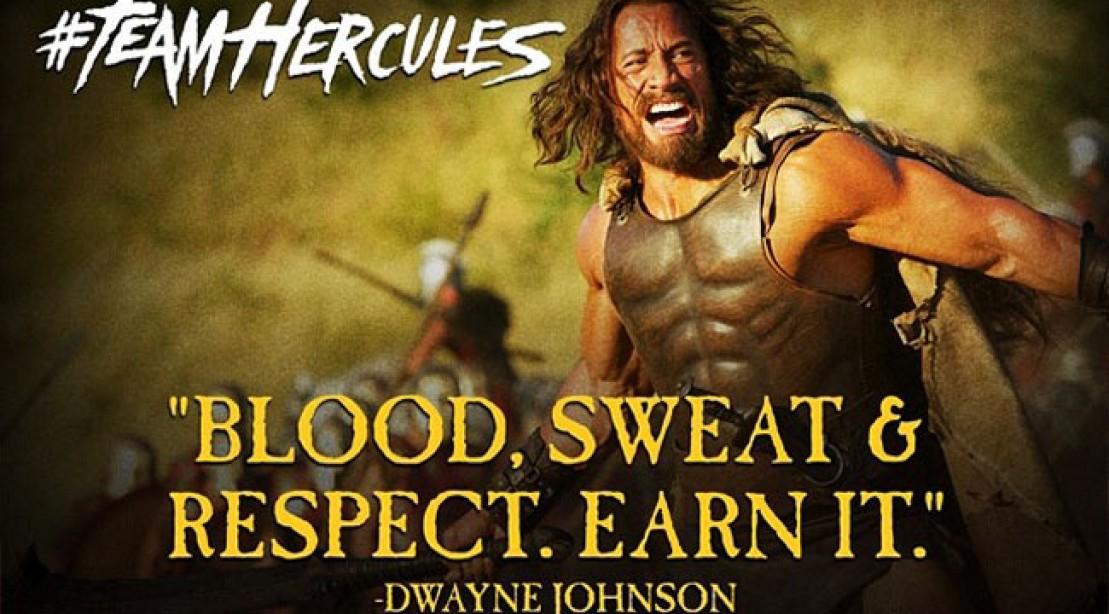 The Rock Team Hercules