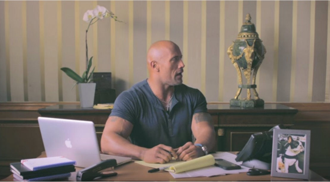 Dwayne Johnson Debuts Epic Video to Promote Launch of New YouTube Channel