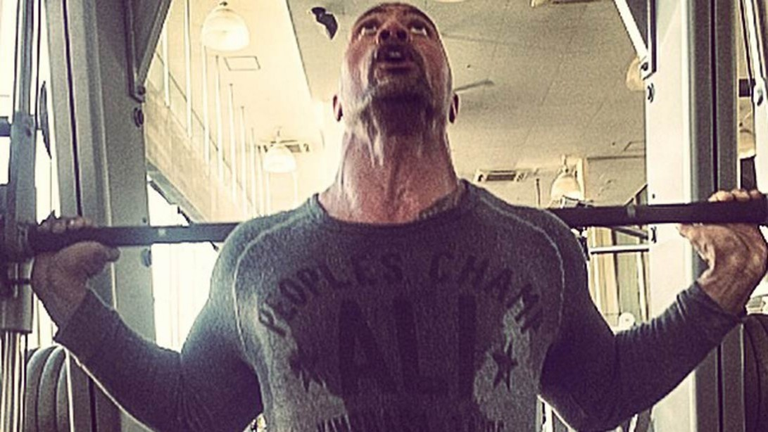 The Rock Early Morning Workout
