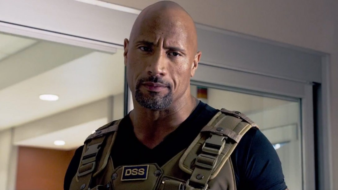 The Rock, Fast & Furious 7 Trailer