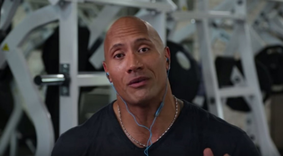 The Rock Reflects on First WWE Match
