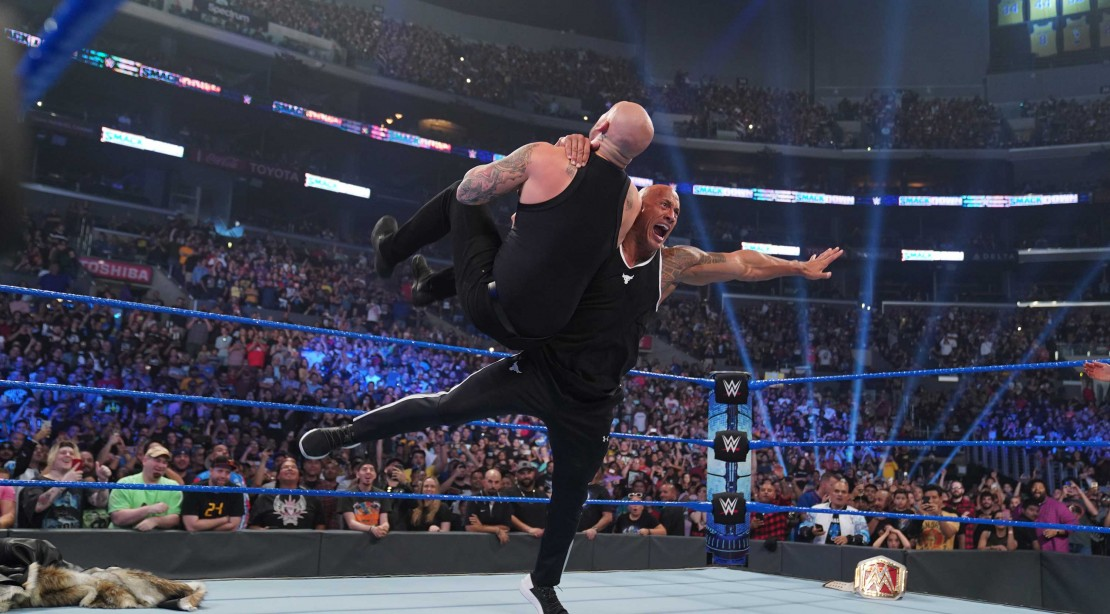 The Rock Made a Triumphant Return to WWE SmackDown