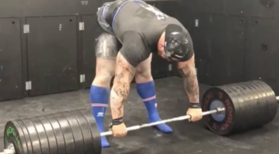Thor Bjornsson deadlift attempt