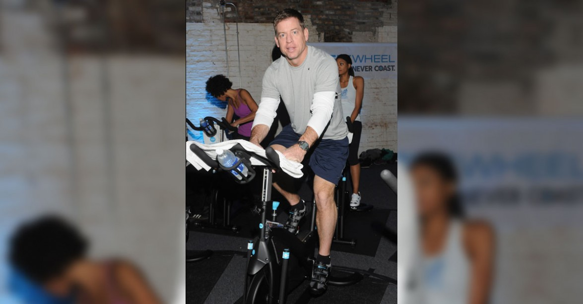 Troy Aikman: INSANE PHYSIQUE  Check Out My 8-Pack!!!