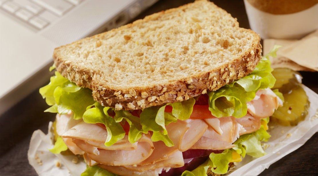 Toaster Oven Recipe For Athletes Turkey Blt On Whole Grain Bread