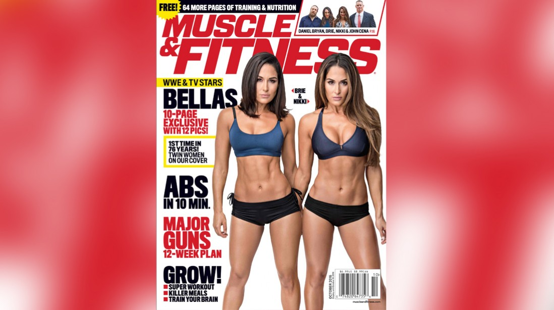 Get the October Issue of 'Muscle & Fitness' on Newsstands Now