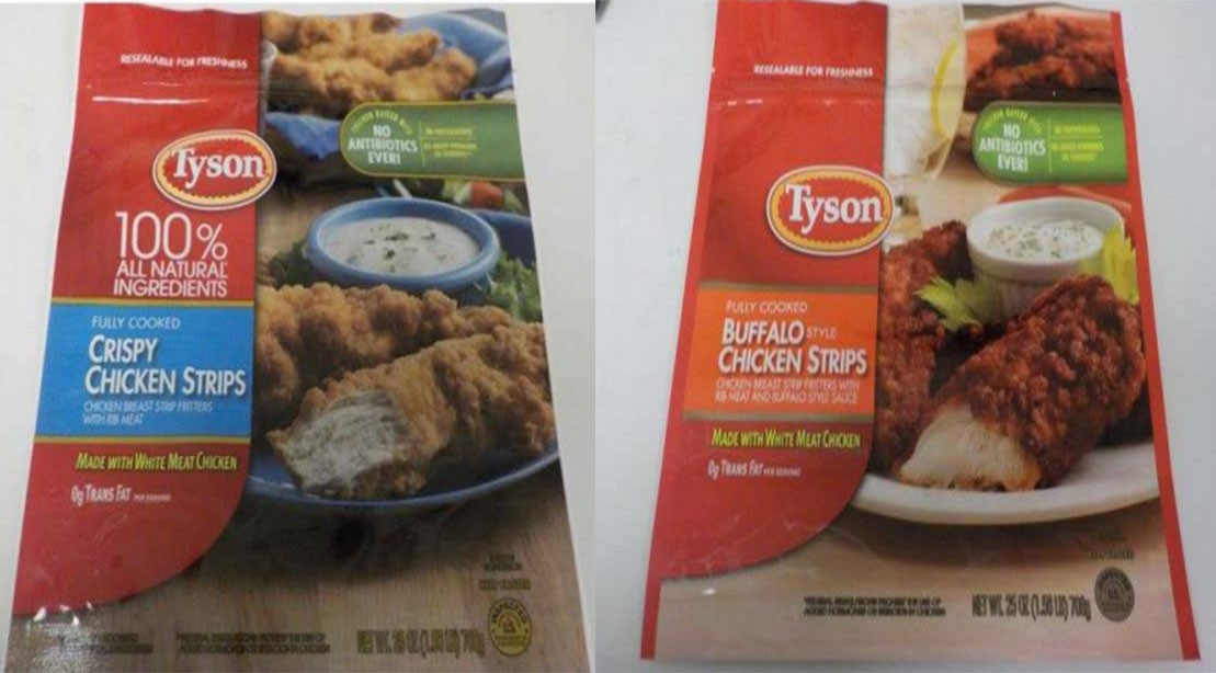 Tyson Chicken Strips Recall