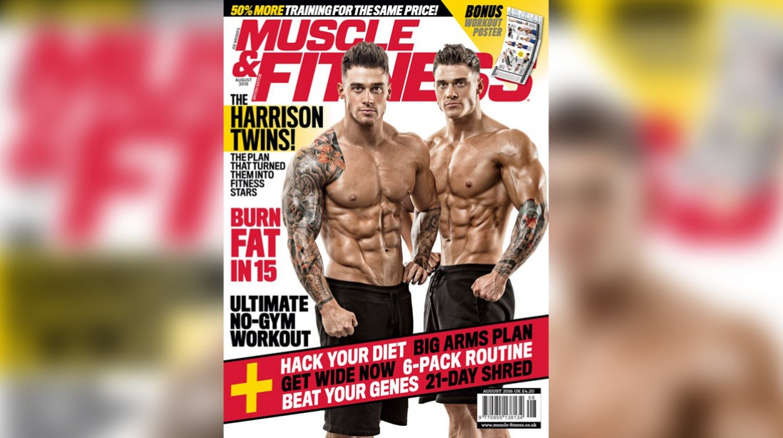 Get the August Issue of 'Muscle & Fitness' Now!