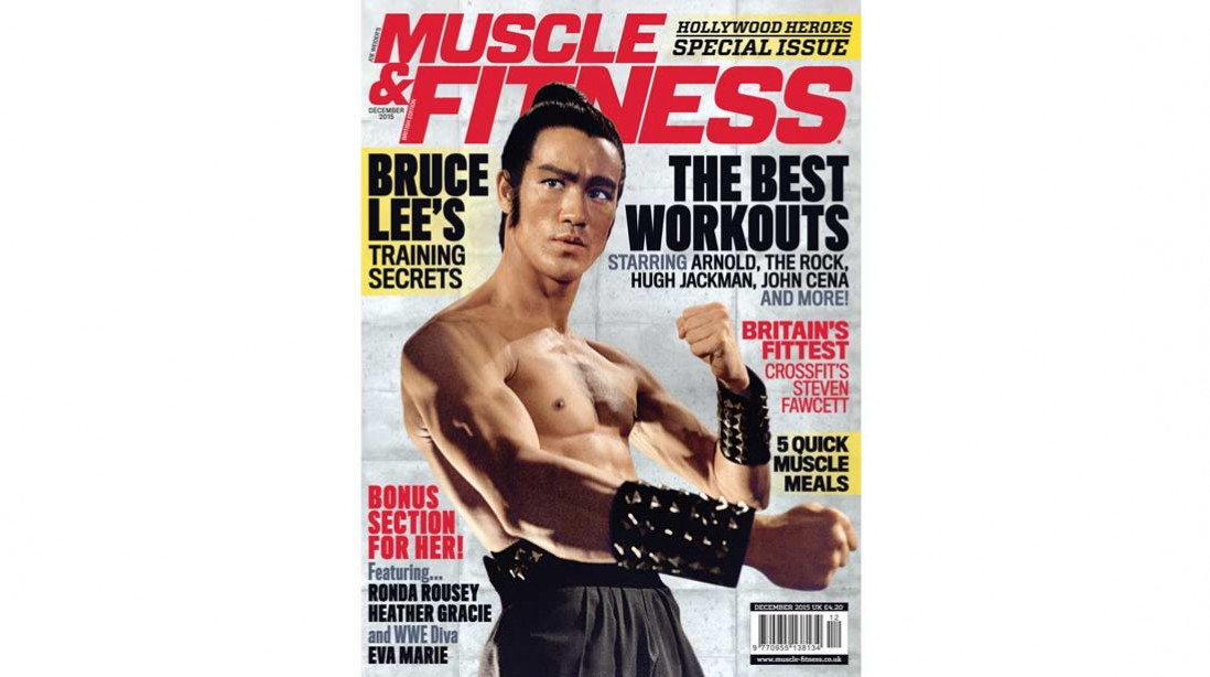 Get the December Issue of 'Muscle & Fitness' Now!