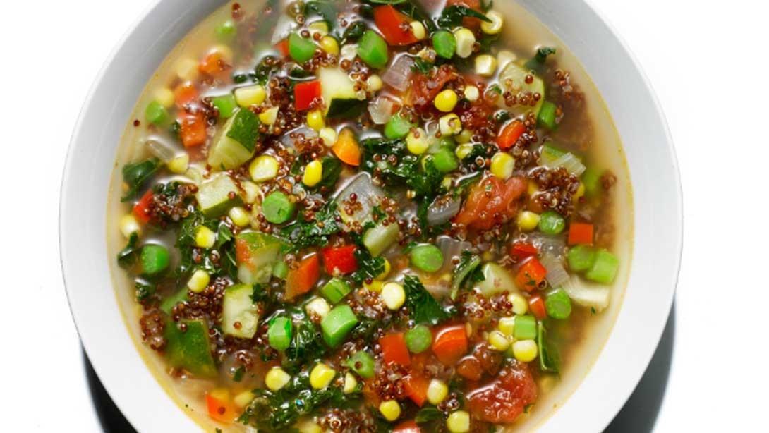 Flavor Filled: Quinoa-Veggie Soup