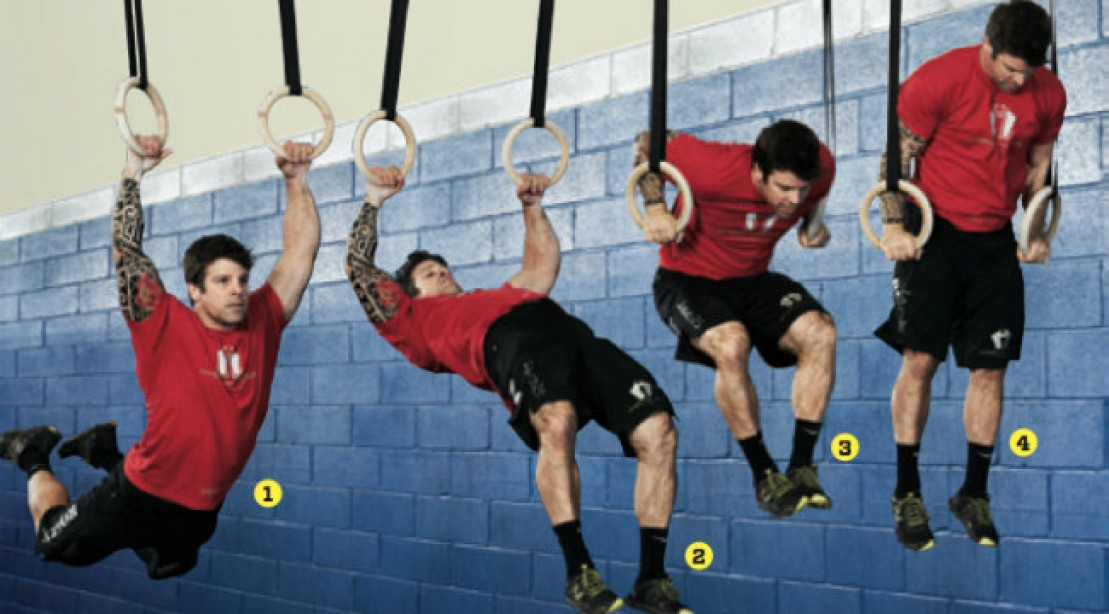 Ring Muscle Up Progression Workout