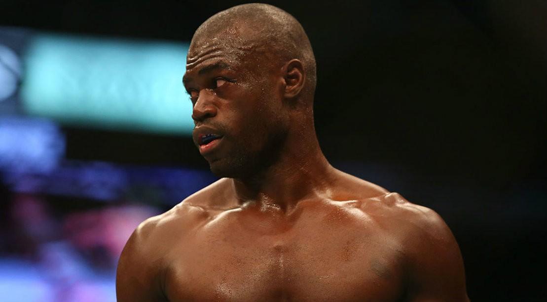 UFC fighter Uriah Hall