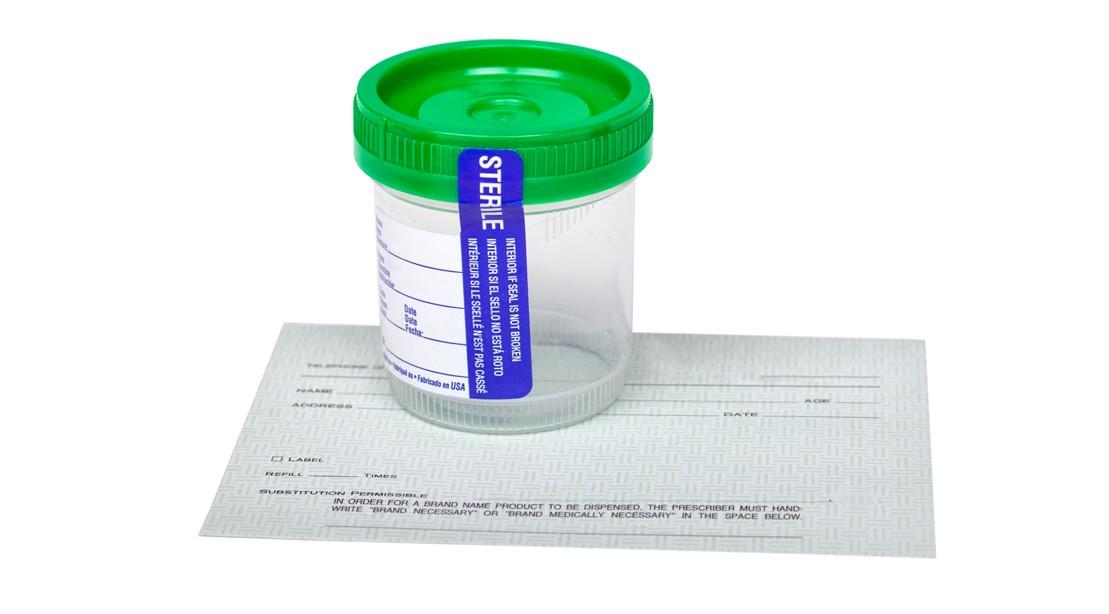 Urine-Test-Container
