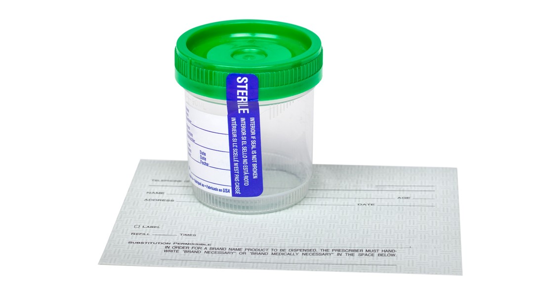 Urine-Test-Container