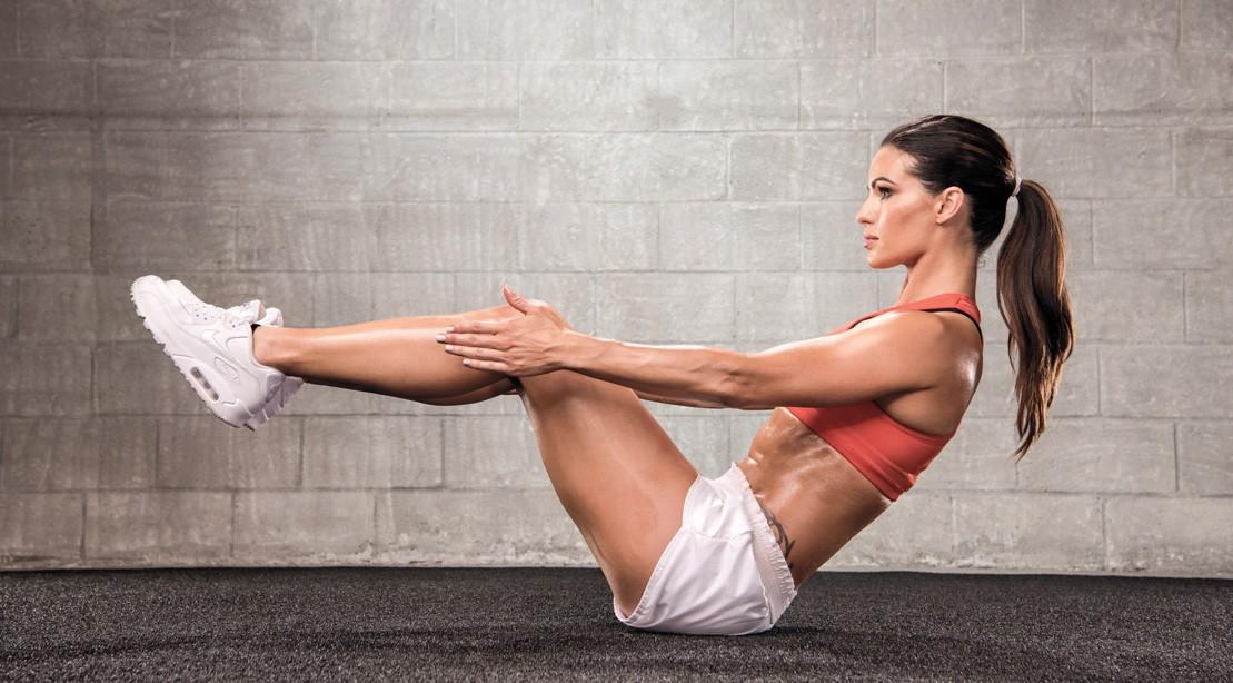 V Up Ab Exercise