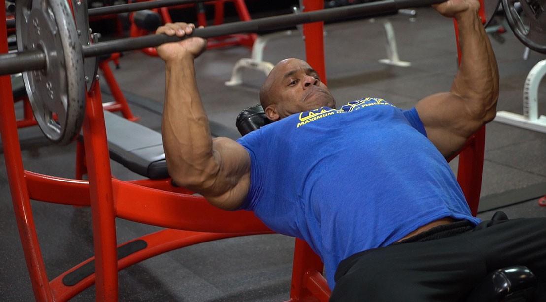Victor Martinez Chest Workout