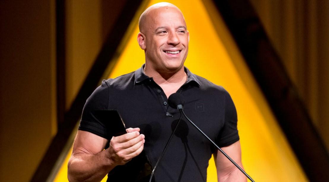 Vin Diesel at Latino Media Awards