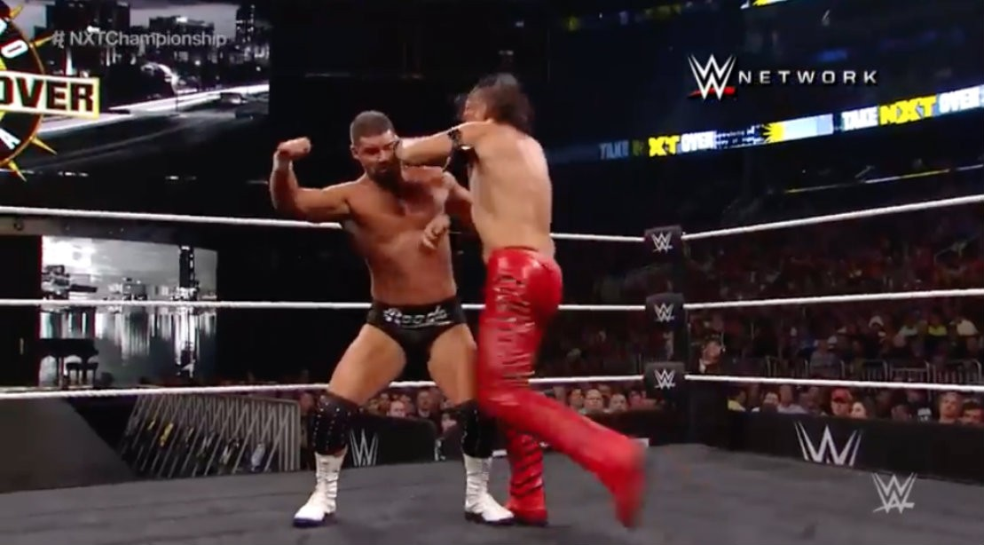 Wrestling Match At WWE Training Center
