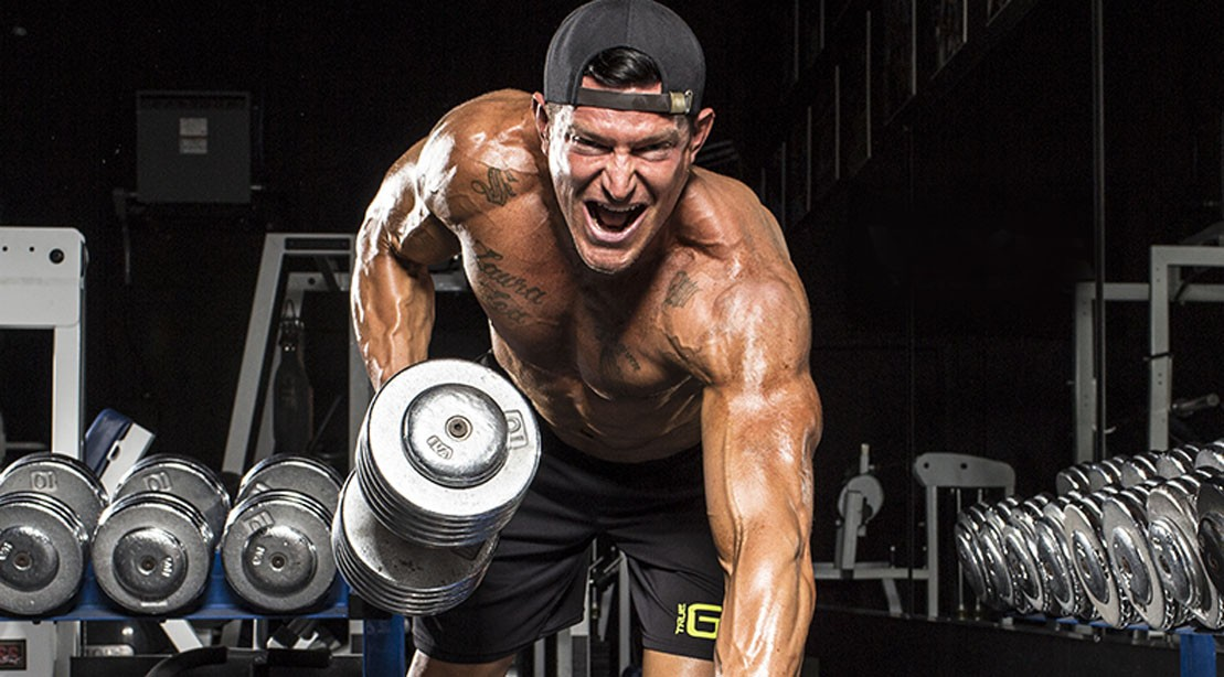 The Steve Weatherford ARMageddon Arm Workout Sample | Muscle & Fitness