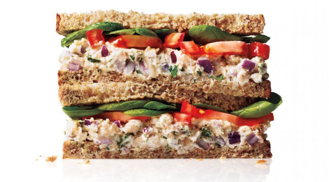 White Bean Ricotta Sandwich