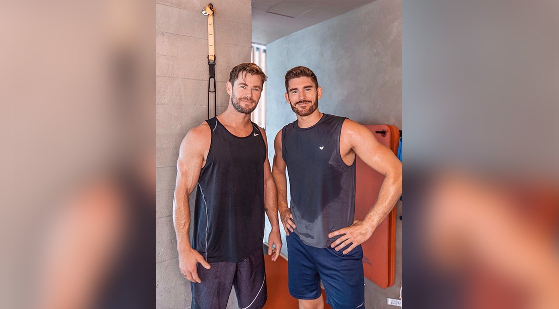 YouTuber Does Chris Hemsworth's Workout—with Thor himself!