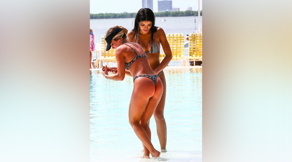 Yovanna Ventura and Cassandre Davis Aren't Naked, But They ...