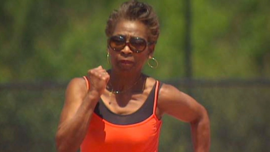 A Great-Grandmother Who's A Champion Sprinter