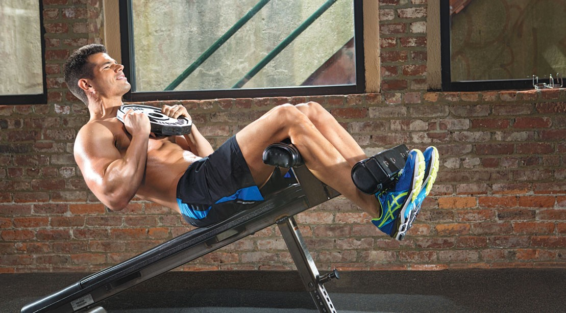 Dense and Define Your Six-Pack with Declined Sit Ups